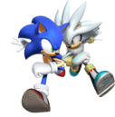 Sonic with silver .png
