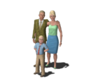 Landgraab family (The Sims 3)