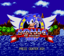 Sonic the Hedgehog (2005 Sonic Cafe)