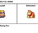 MCSC Case:Wario V.S. Kong