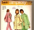 Simplicity 5411 A