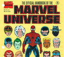 Official Handbook of the Marvel Universe Master Edition Vol 1 1
