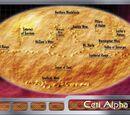 Ceti Alpha V geography