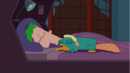 Ferb sleeping with Perry.png