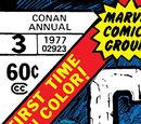 Conan the Barbarian Annual Vol 1 3/Images