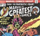 Marvel's Greatest Comics Vol 1 62