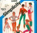 Simplicity 6485 A