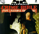 Crime Bible: Five Lessons of Blood Vol 1 2
