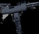 Schalldämpfer-Maschinenpistole