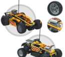 8376 Hot Flame RC Car