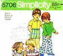 Simplicity 5706 A
