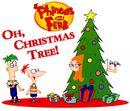 Candace stuck in Christmas tree.jpg