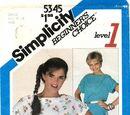 Simplicity 5345 A