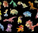 Chibi Dinosaurs