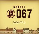 Süßes Trio