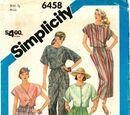 Simplicity 6458