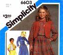 Simplicity 6603