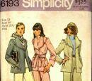 Simplicity 6193 A