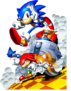 Sonic and Tails, Knuckles, Robotnik and Metal Sonic.png