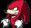 Knuckles the Echidna (Sonic Underground)