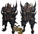 Dark Akantor Armor (Blade)