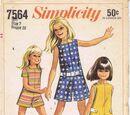 Simplicity 7564 A