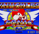 Knuckles in Sonic the Hedgehog 2