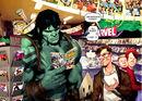 Skaar (Earth-616) and Bruce Banner (Earth-616) from Incredible Hulk Vol 1 602 0001.jpg