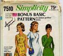 Simplicity 7510 A
