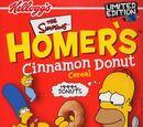 Homer's Cinnamon Donut Cereal