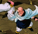 Tenshinhan vs Super Buu (Gotenks Absorbido)