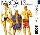 McCall's 8026 A