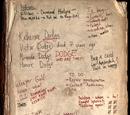 A Torn Notebook