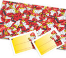 851680 Santa Gift Wrap and Tags