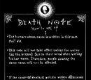Regeln des Death Note