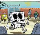 SpongeBob's skeleton