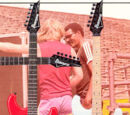 Electric guitar backgrounds