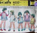 McCall's 4032