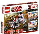 66341 Star Wars 3 in 1 Superpack