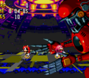Knuckles' Chaotix bosses