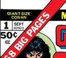 Giant-Size Conan Vol 1