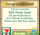 7 Eleven Promotion Event