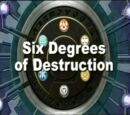 Sechs Grade der Zerstörung