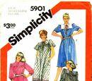 Simplicity 5901 A