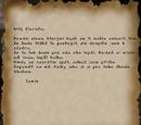Dopis na rozloučenou od Lucie