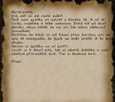 Diegův dopis Gerbrandtovi