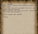 Dopis od Vatrase pro mágy ohně