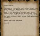 Garondův dopis Lordu Hagenovi