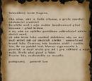 Leeho dopis lordu Hagenovi