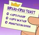 Bread-Free Toast